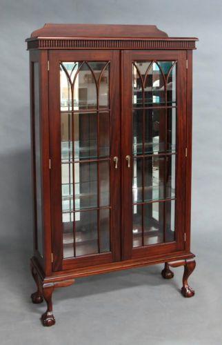 Книжный шкаф в стиле Чиппендейл 13023