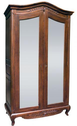 Платяной шкаф в стиле Королевы Анны WR04